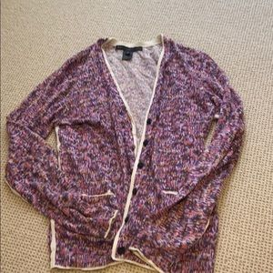 Marc Jacobs purple button down cardigan (medium)
